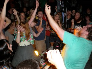 Dan Deacon at Backdor Skatepark Greenville NC 8-15-09